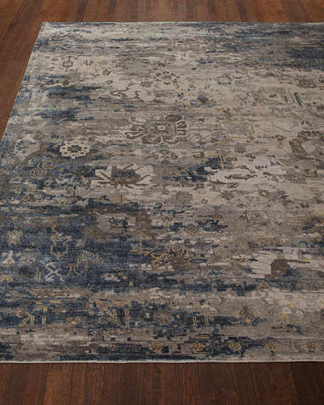 Mayley Vintage Hand-Knotted Rug, 9' x 12'