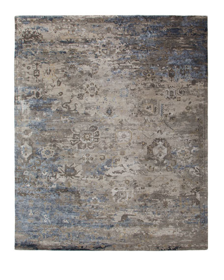 Mayley Vintage Hand-Knotted Rug, 8' x 10'