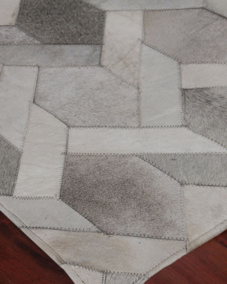 Dara Hand-Stitched Hairhide Rug, 11.6' x 14.6'