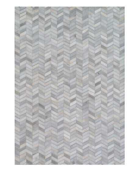 Exquisite Rugs Nazara Hairhide Rug, 5' x 8'