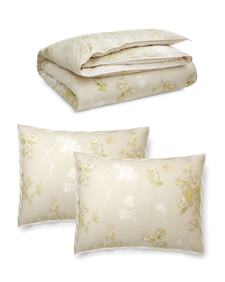 Lakeview Floral King Duvet Set