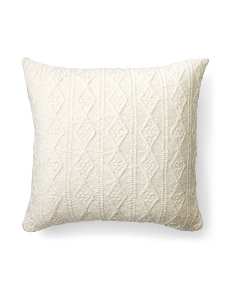 "Lakeview Knit Decorative Pillow, 20""Sq."