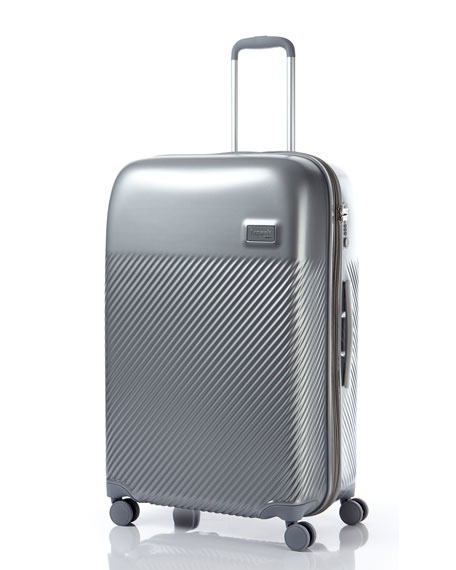 """Dazzling Plume 28"""" Spinner  Luggage"""