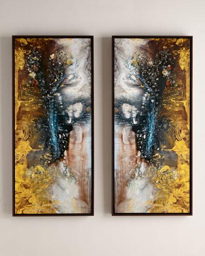 Mary Hongs Heavenly Pair I & II Giclées