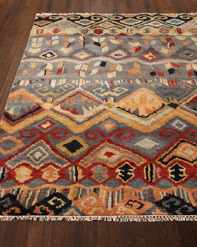 Noam Earth Hand-Knotted Rug  6' x 9'