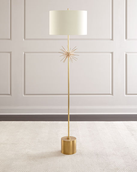 Quartz Starburst Floor Lamp