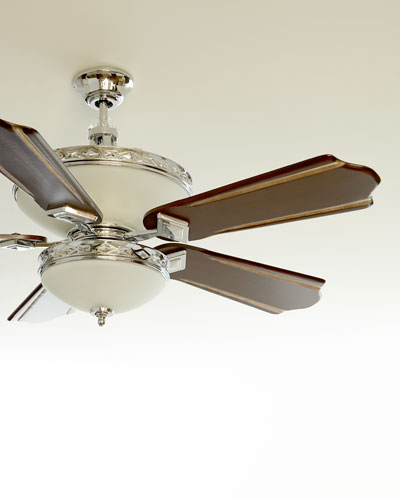 Ceiling fans outdoor indoor ceiling fans at neiman marcus horchow crystal fan mozeypictures Choice Image