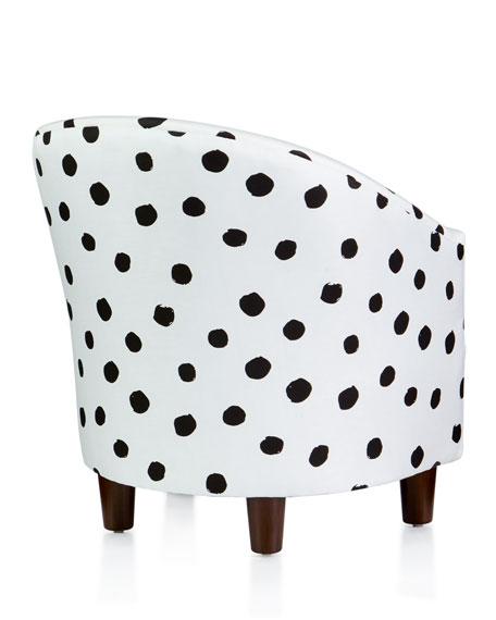 Kids' Corina Polka-Dot Chair