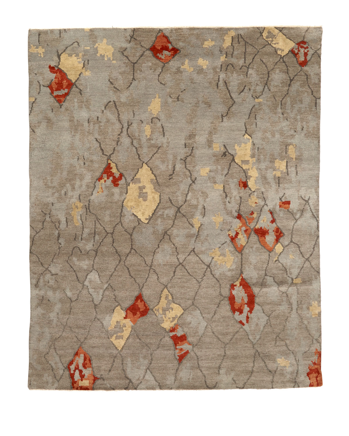 Abda Hand Knotted Rug 8 X 10