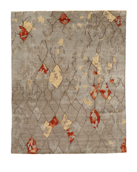 "Abda Hand-Knotted Runner, 2'6"" x 10'"
