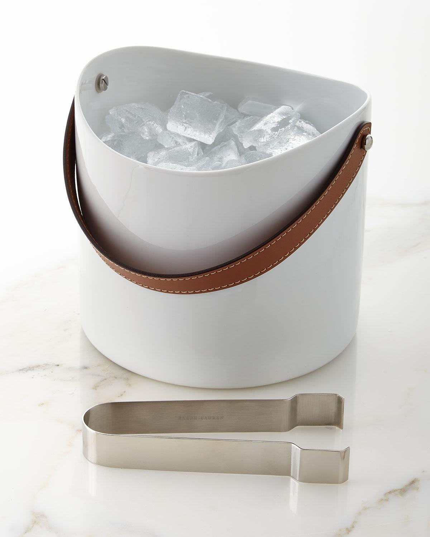 Ralph Lauren Homewyatt Ice Bucket And Tongs