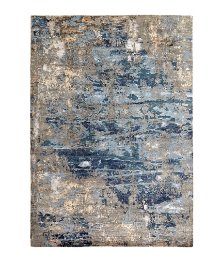 Tala Hand Knotted Rug, 4' x 6'