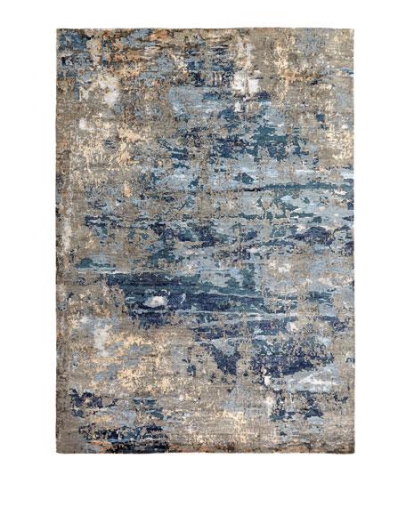 Lhasa Sandstorm Hand-Knotted Rug, 8' x 10'