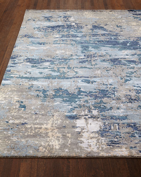 Lhasa Bamboo Hand-Knotted Rug, 10' x 14'