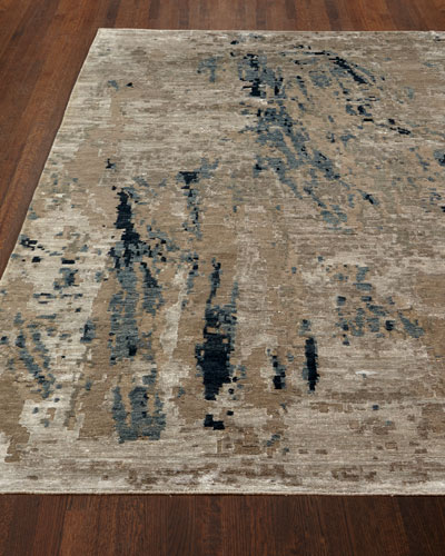 Lhasa Bamboo Hand-Knotted Rug, 4' x 6'