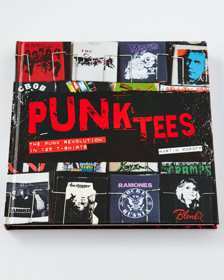 Punk Tees Hardcover Book