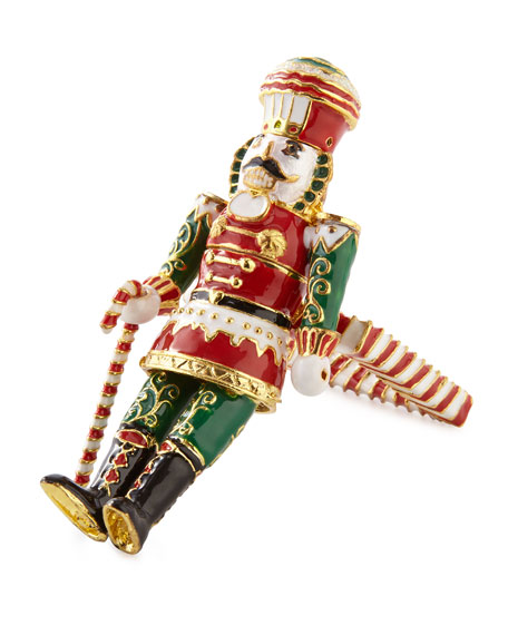Nutcracker Napkin Ring