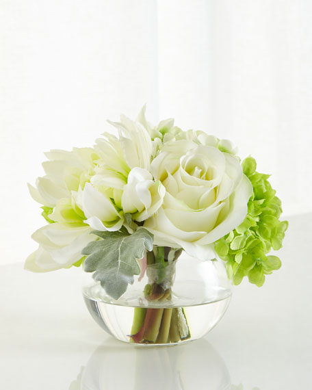 Natures Green Floral Arrangement