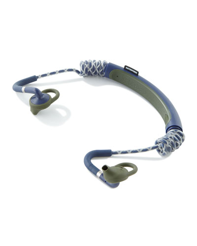 Running Headphones, Blue