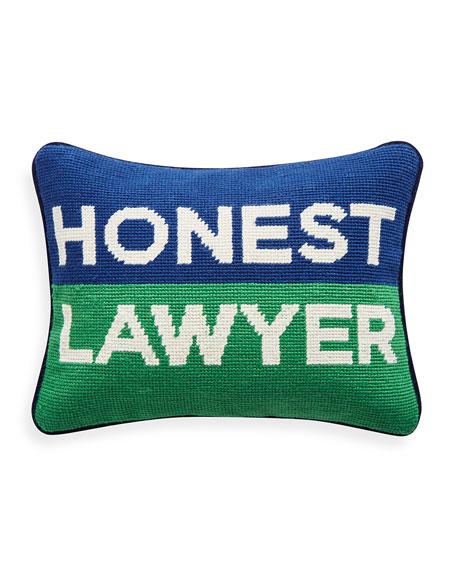 Honest Lawyer Pillow