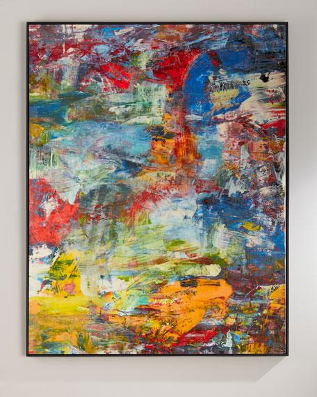 """Richard Schem's """"See the World"""" Giclee"""