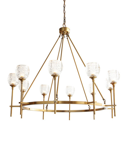 Garland 10-Light Chandelier