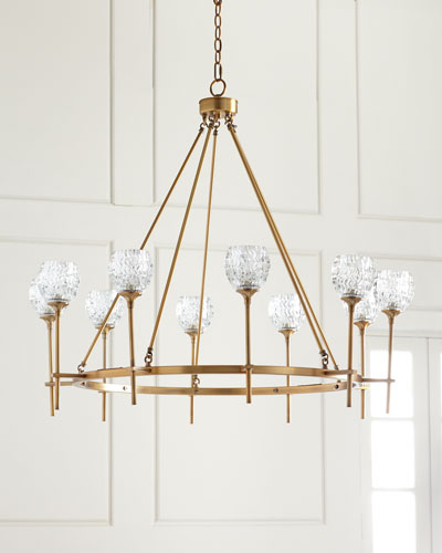 Darlana Two Tiered Ring Chandelier: Chandelier Lighting At Neiman Marcus Horchow