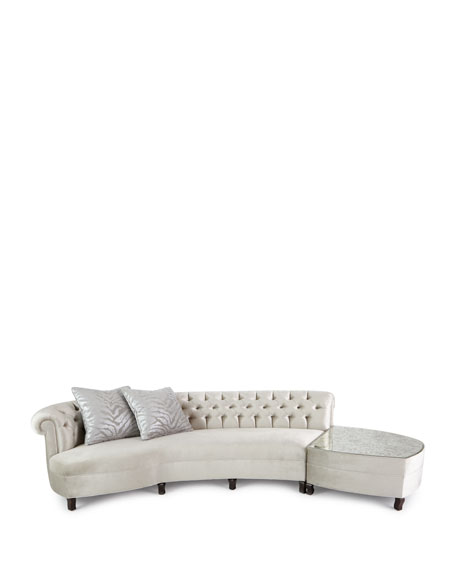 Aria Mirrored Sectional