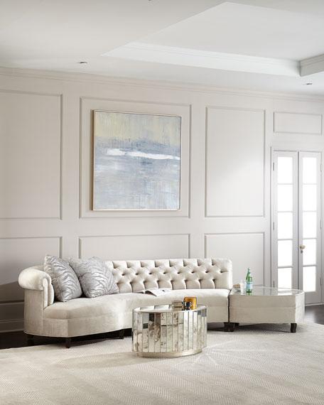Haute House Aria Mirrored Sectional