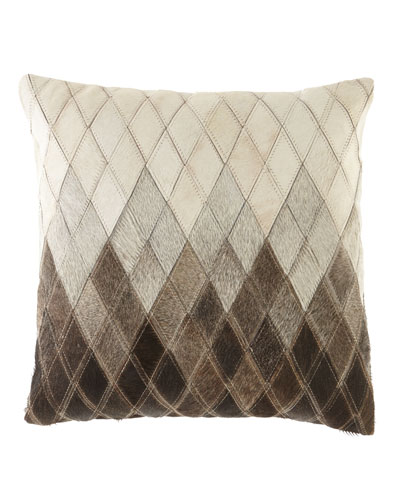 Ombre Diamonds Pillow