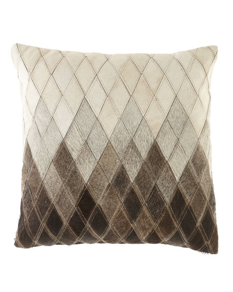 Ombre Diamonds Pillow