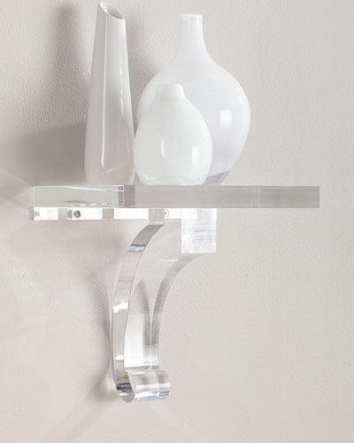 Glencoe Lucite Shelf