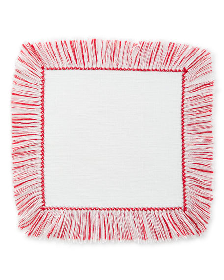 Fringe Cocktail Napkins, Set of 4