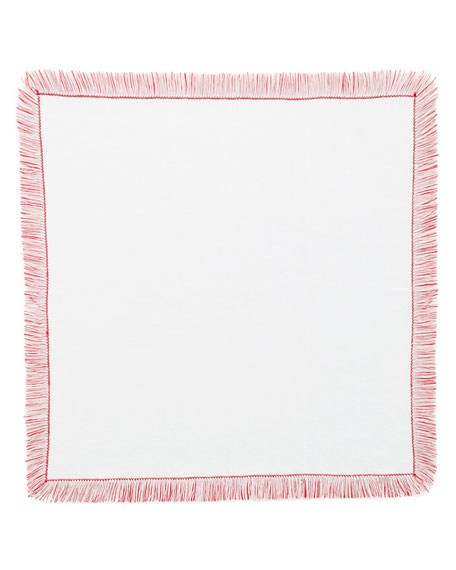 Fringe Dinner Napkins, Set of 4