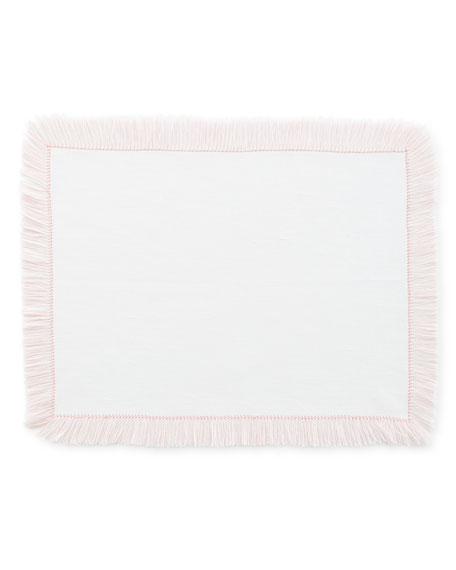 Fringe Rectangle Placemats, Set of 4