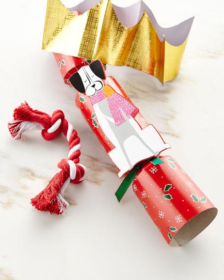 Whimsy Dog Christmas Cracker, Each
