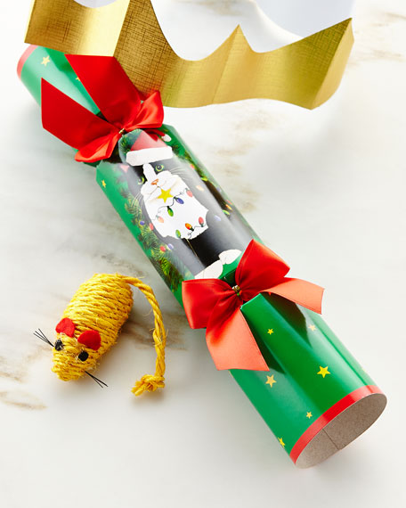 Cat Toy Christmas Cracker, Each