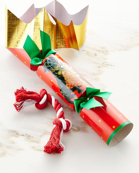 Dog Toy Christmas Cracker, Each