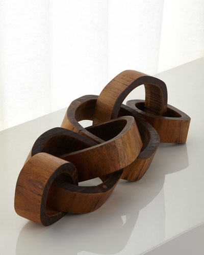 Wooden Links Centerpiece