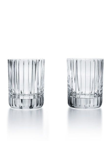 Baccarat Harmonie Single Old Fashion Tumblers, Set of