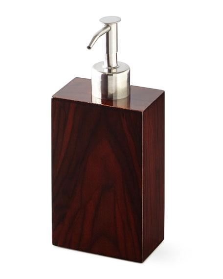Kassatex Madera Lotion Dispenser