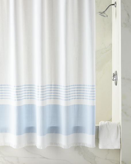 Lakeside Fouta Shower Curtain