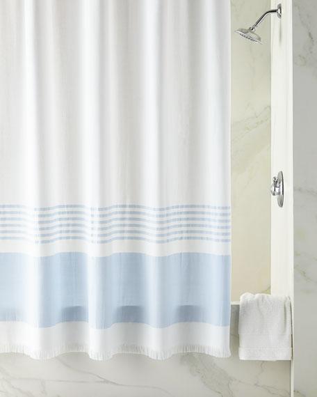 Lakeside Fouta Shower Curtain