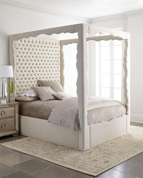 Empress Queen Canopy Bed