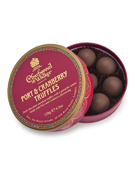 Paper Theatre Collection – Port & Cranberry Truffles