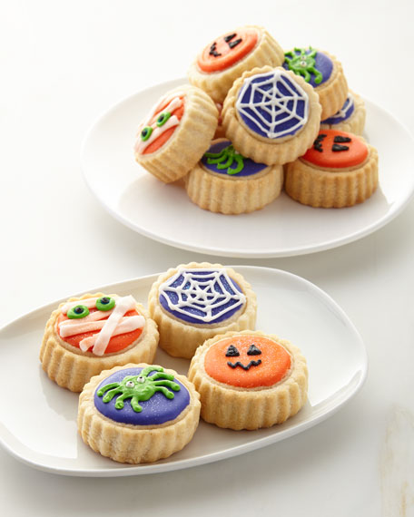 Le Gourmet Baking Halloween Shortbread Cookies in Gift
