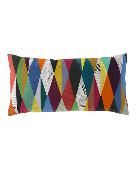 Masquerade Arlequin Pillow