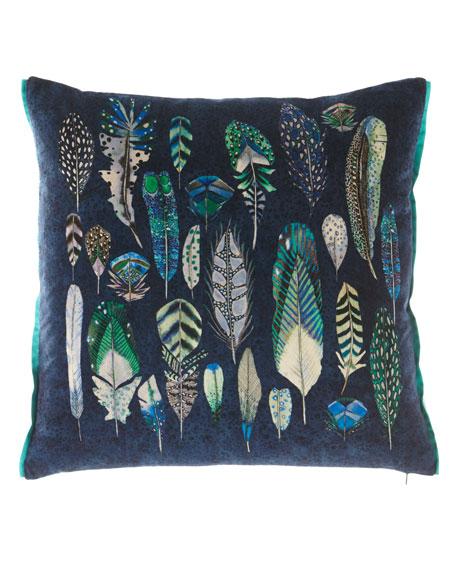 Quill Cobalt Cushion Pillow