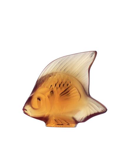 Amber Angelfish Figurine