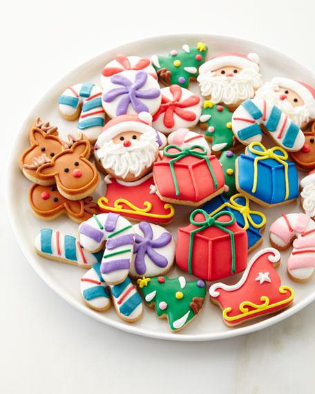 30-Piece Christmas Petite Cookie Set